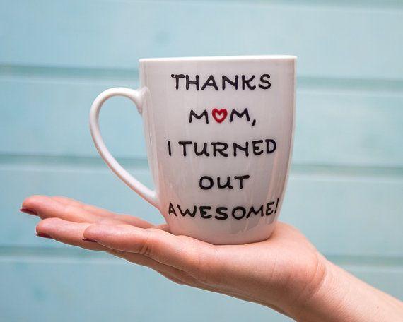 Items Similar To Mom Gifts Personalized Coffee Mug Birthday Gift For