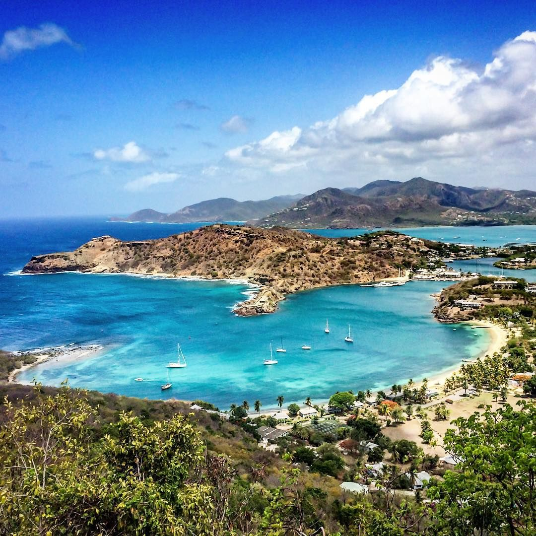 The View From Shirley Heights, Antigua, Caribbean