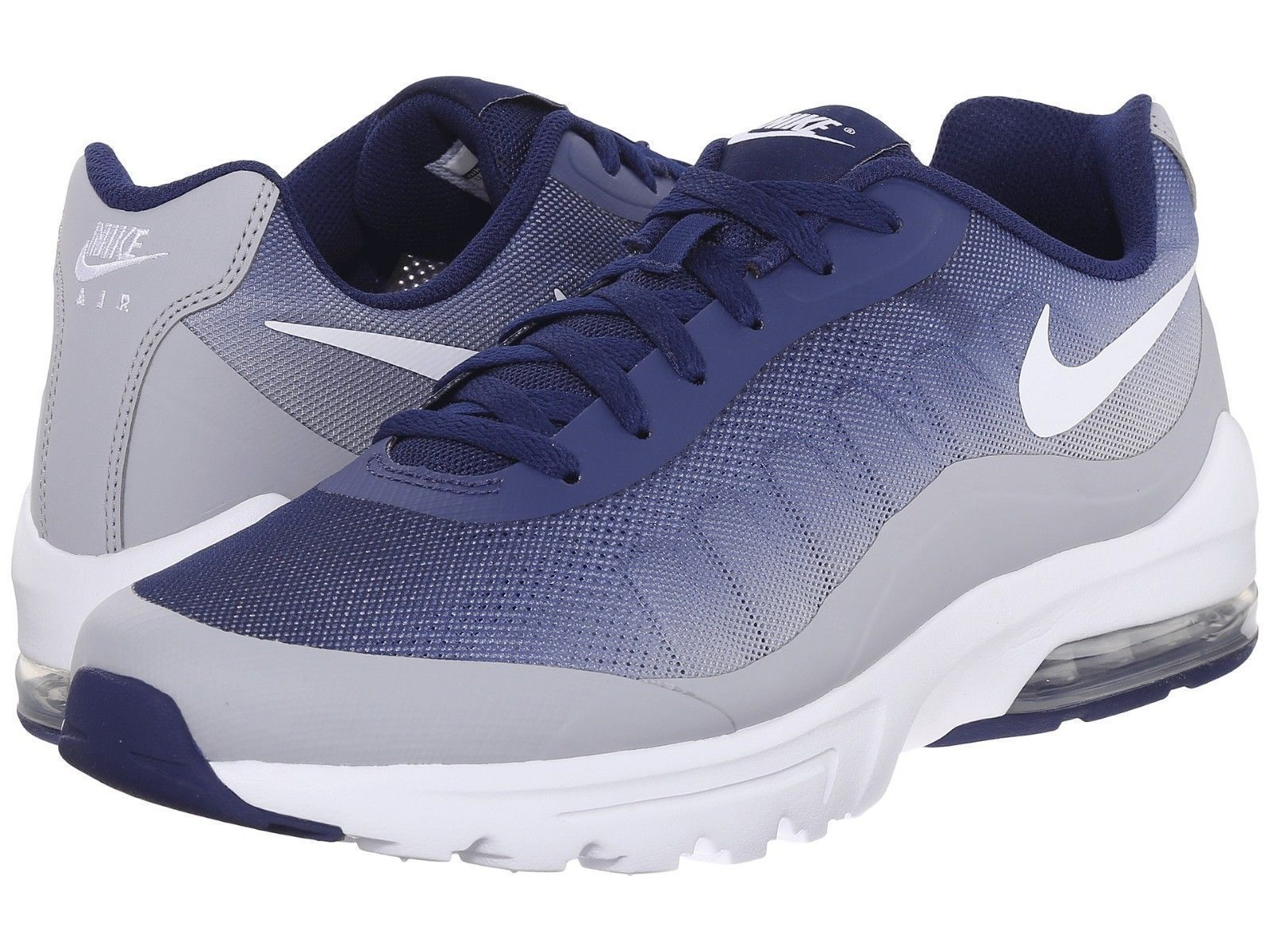 low cost 44025 31ebc NIKE AIR MAX INVIGOR PRINT NEW MEN S SIZE 12 BLUE GREY WHITE 749688 410