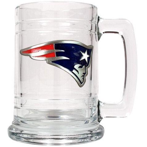 Personalized NFL Emblem Mug - New England Patriots