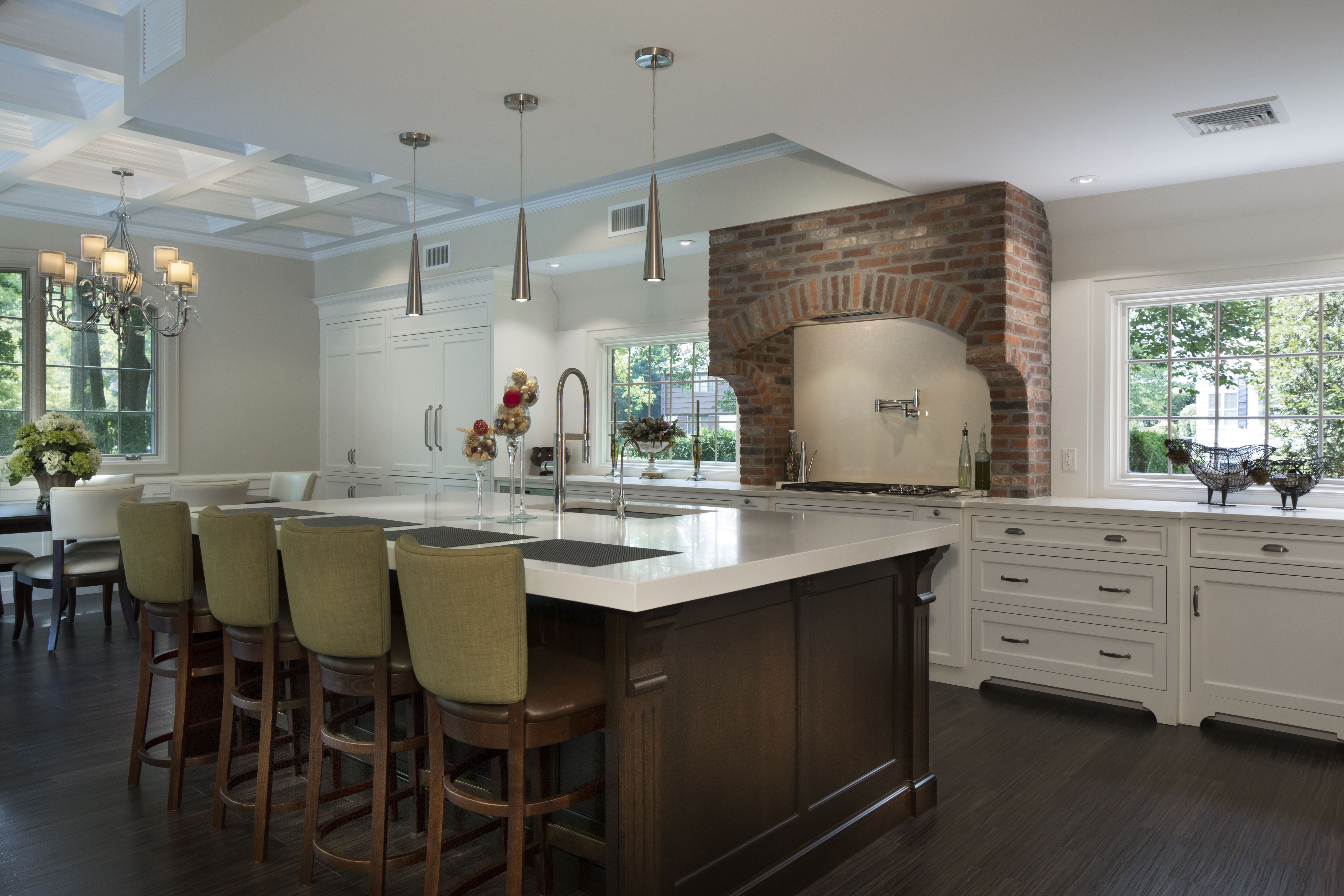 Ruttcabinetry Stars In This Great Neck Ny Kitchen Designed By