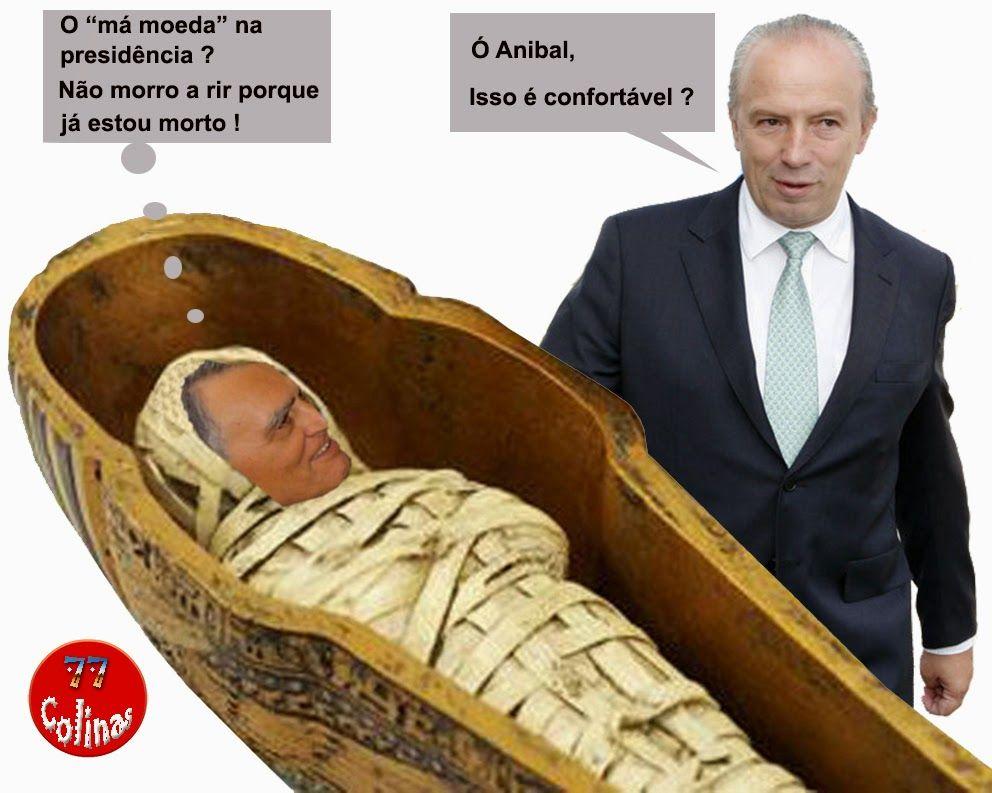 77 Colinas: Até a múmia acha piada !