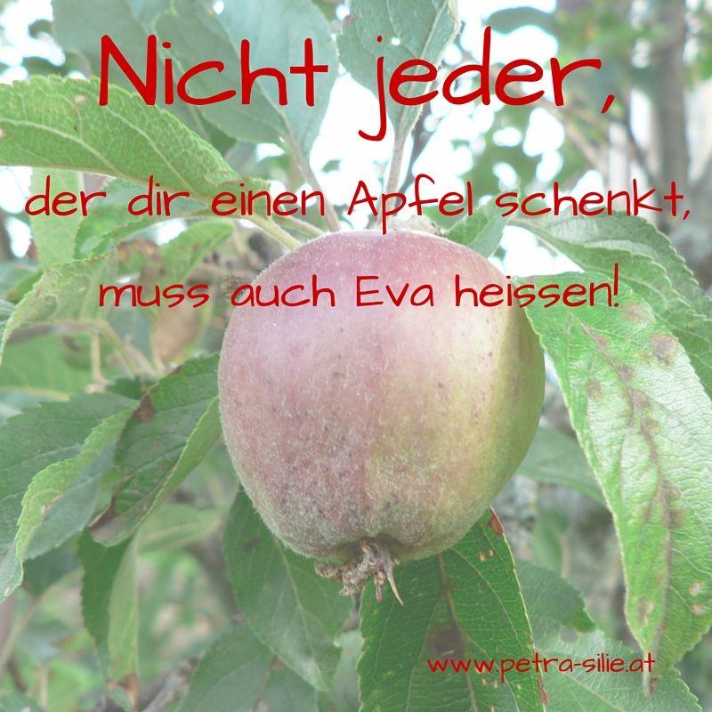 apfel sprüche Eva und der Apfel.   Sprüche und Zitate apfel sprüche