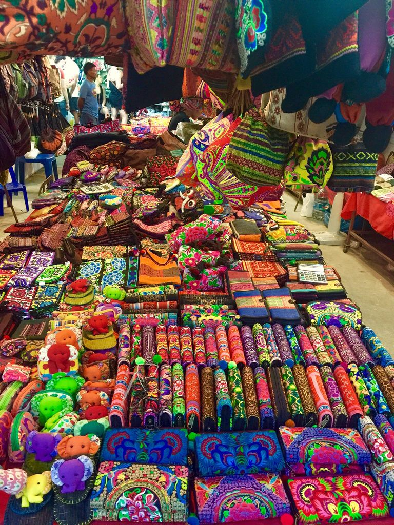 Beautiful Colorful Souvenirs Phuket Night Market