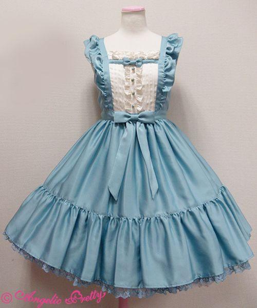 AP Silky Lady JSK (blue, mint or bordeaux)