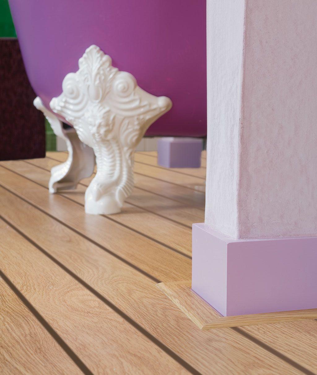 QuickStep Lagune Natural Varnished Oak Shipdeck UR Laminate - Quick step lagune bathroom laminate flooring