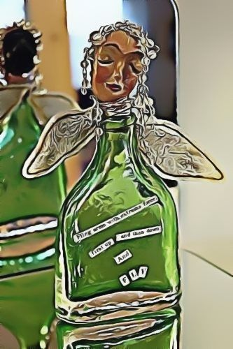 Angel of Found Objects ~Altered Image ©tkp