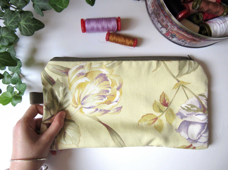 Stoffe Arredamento ~ Pochette stoffe arredamento stoffe recupero pochette rose di