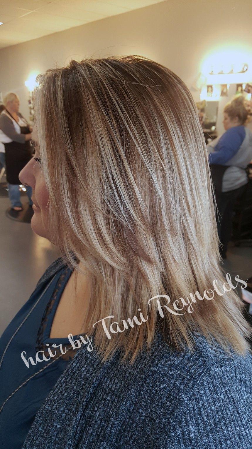 Balayage Shadow Root Salon Platinum Conway Ar Hair By Tami