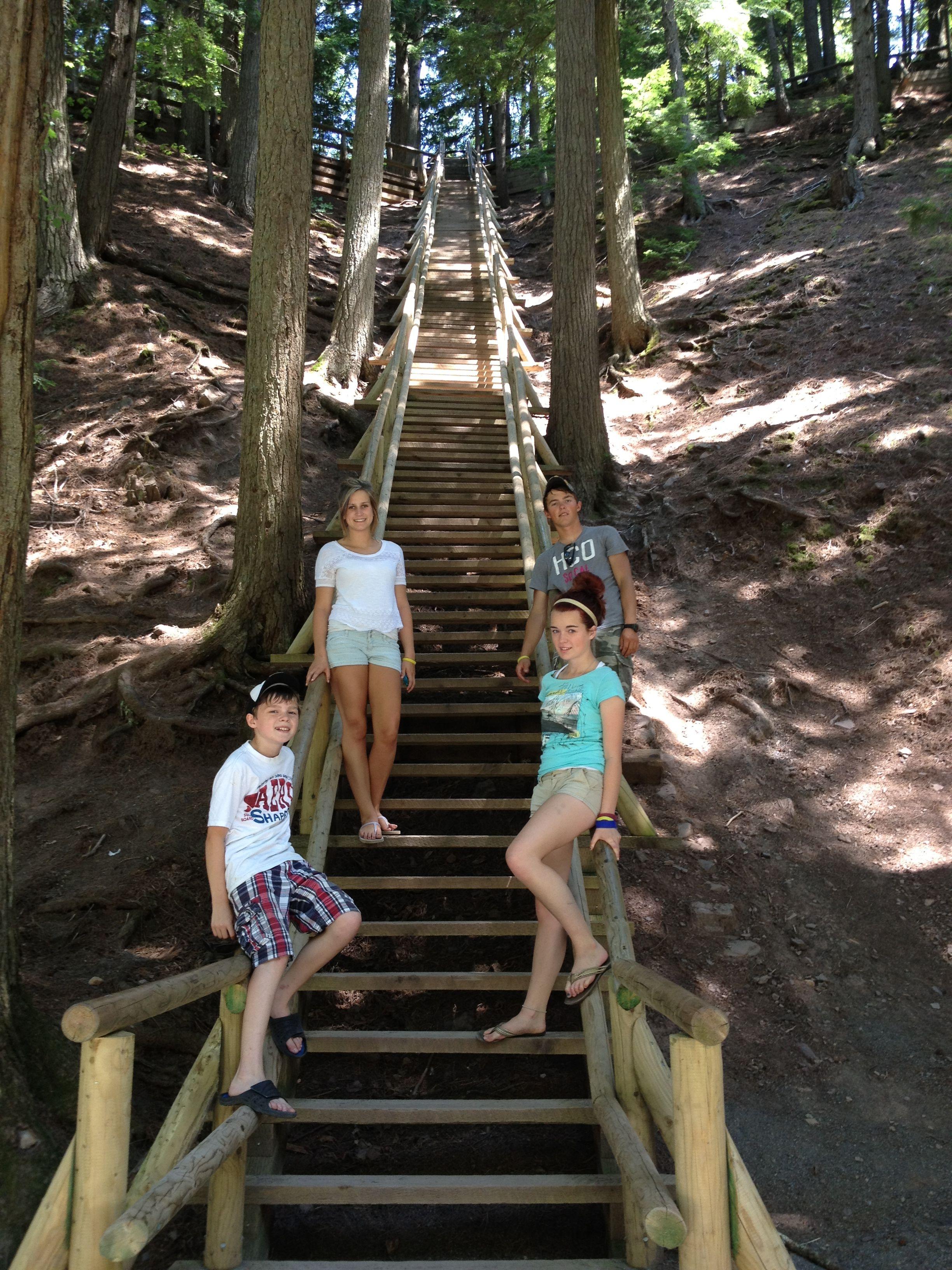 Jacob\'s Ladder - Victoria Park, Truro, NS 179 steps I believe ...