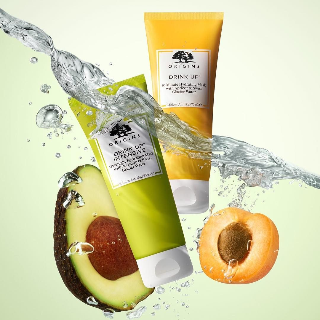 Origins On Instagram Our New Drink Up Hydrating Masks With Nutrient Rich Swiss Glacier Water Natur Origins Drink Up Hydrating Face Mask Face Mask Treatment