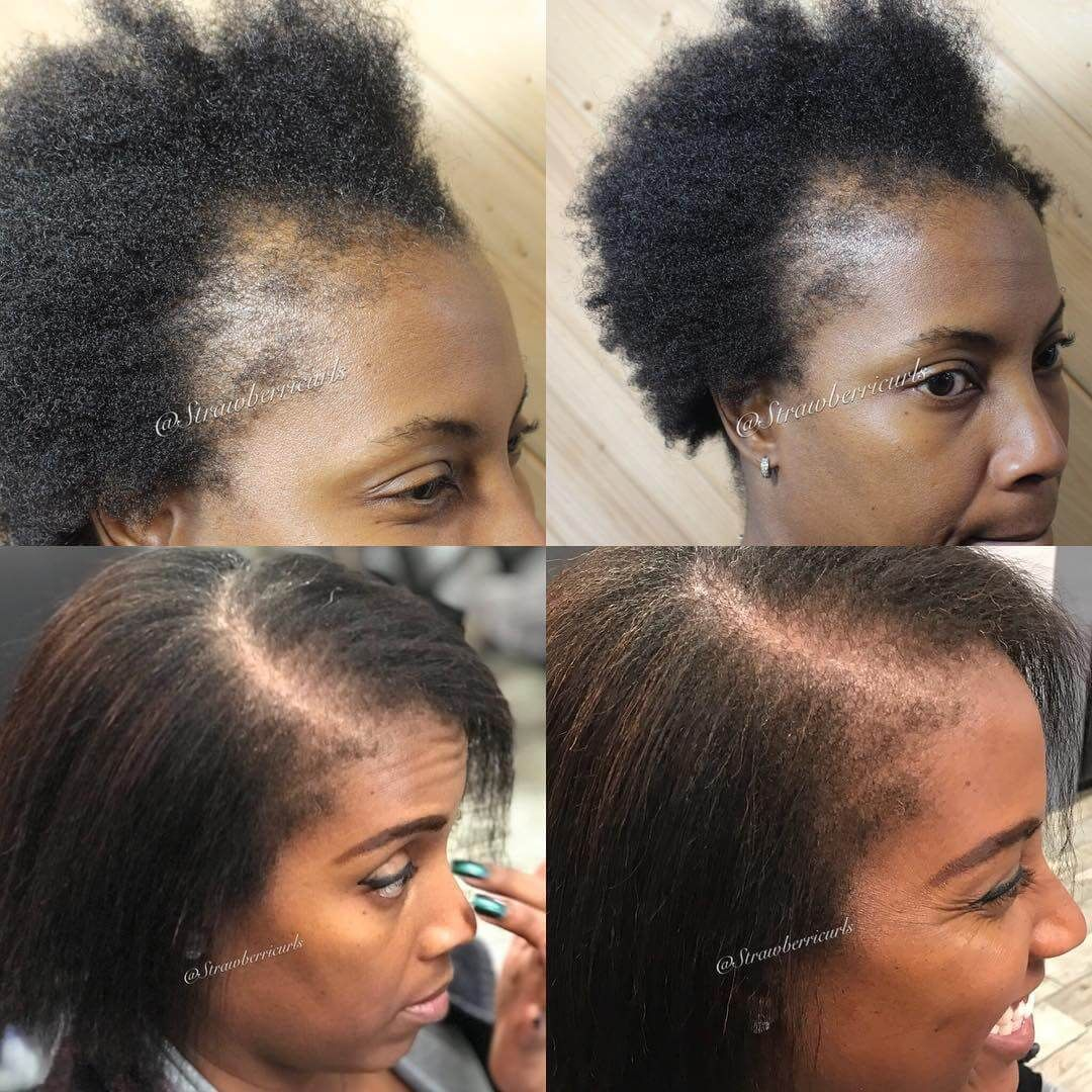 7 Tips To Regrow Your Edges Natural Hair Care Beauty And Lifestyle Blog Natural Hair Styles Henna Natural Hair Natural Hair Growth