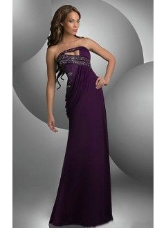 Mermaid Sweetheart Chiffon with and Beading Prom Dresses