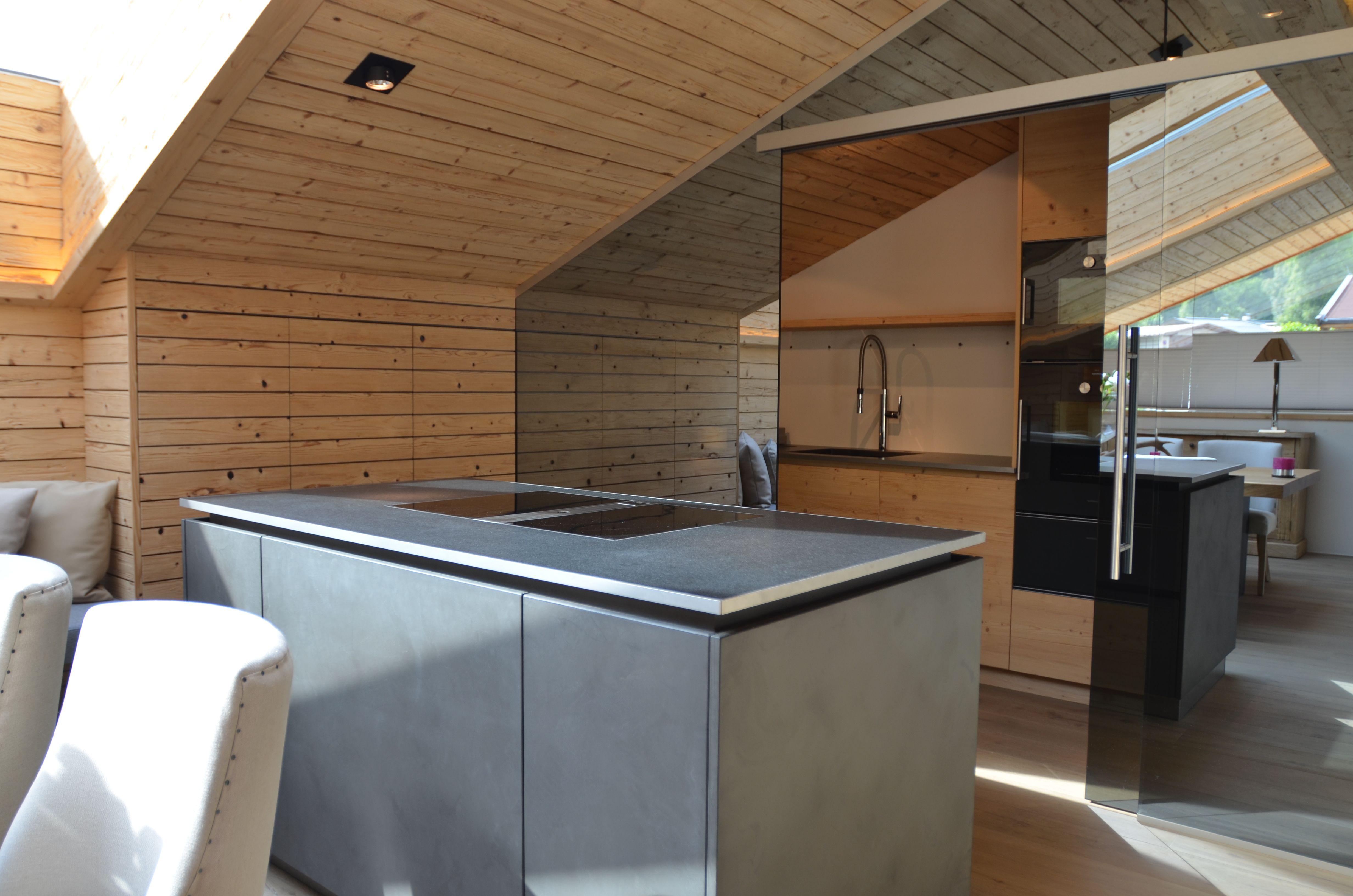 Küche Beton/ Prep-Kitchen/ Kochinsel/ Bora/ The Kitchen Club ...