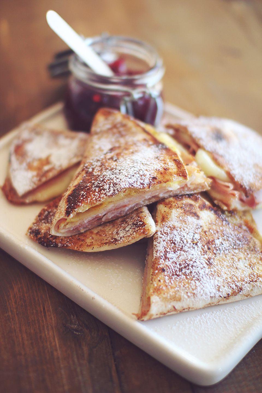 Monte Cristo Wrap - (Free Recipe below) #montecristosandwich