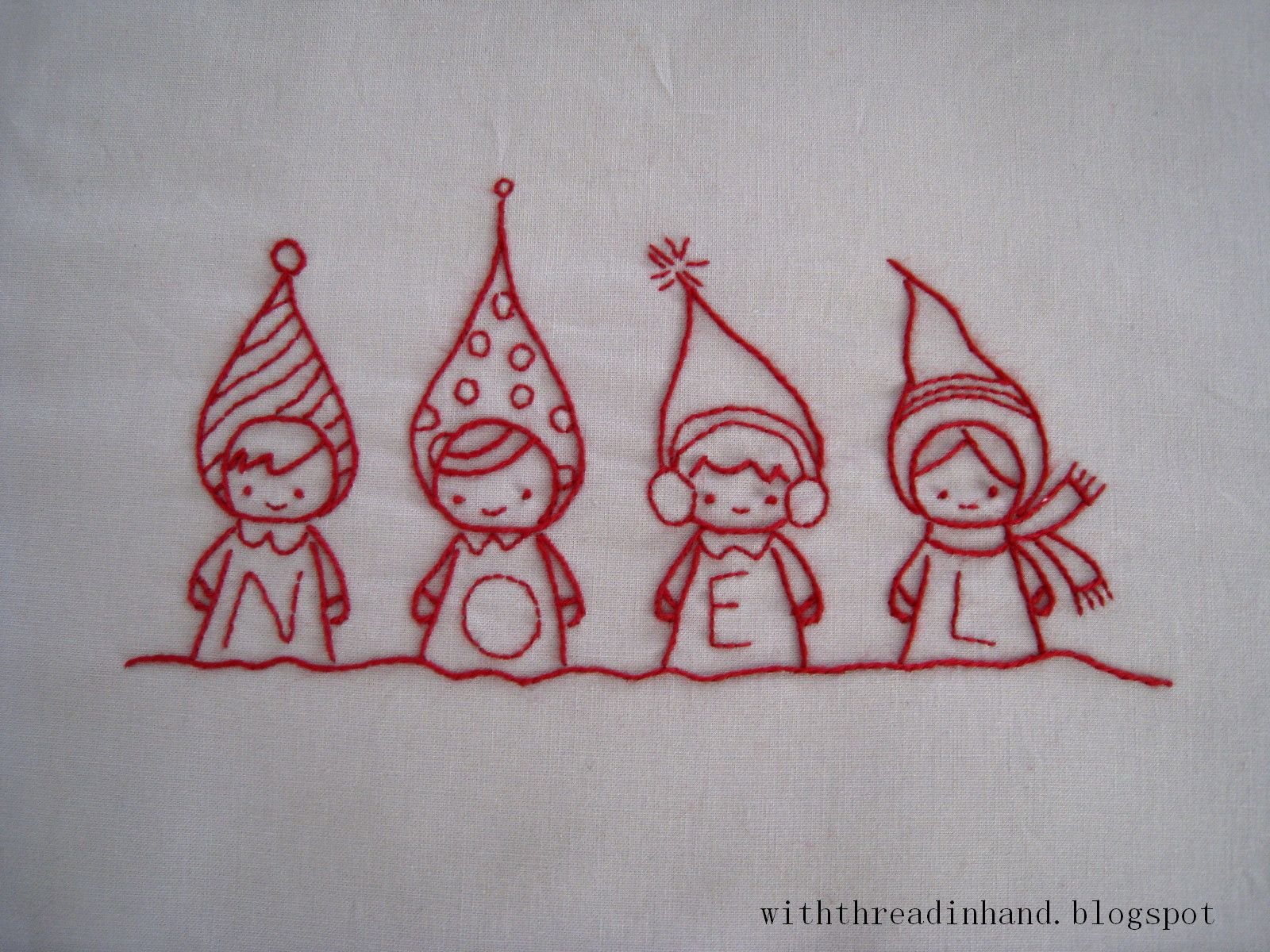 Christmas embroidery patterns by the talented annie