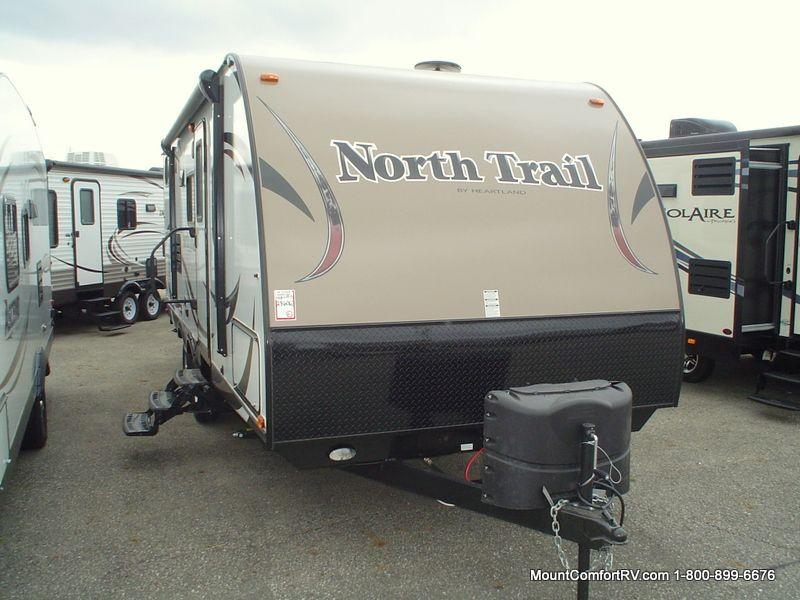 2015 heartland north trail 24bhs travel trailer