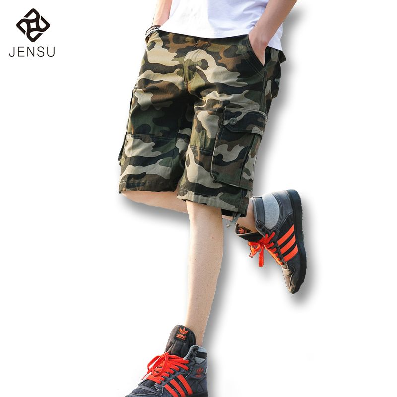 2016 New Men Summer Knee Length Overalls Trousers Shorts Men's Casual Fashion Slim Fit Large Size Summer Shorts Trousers Hombre