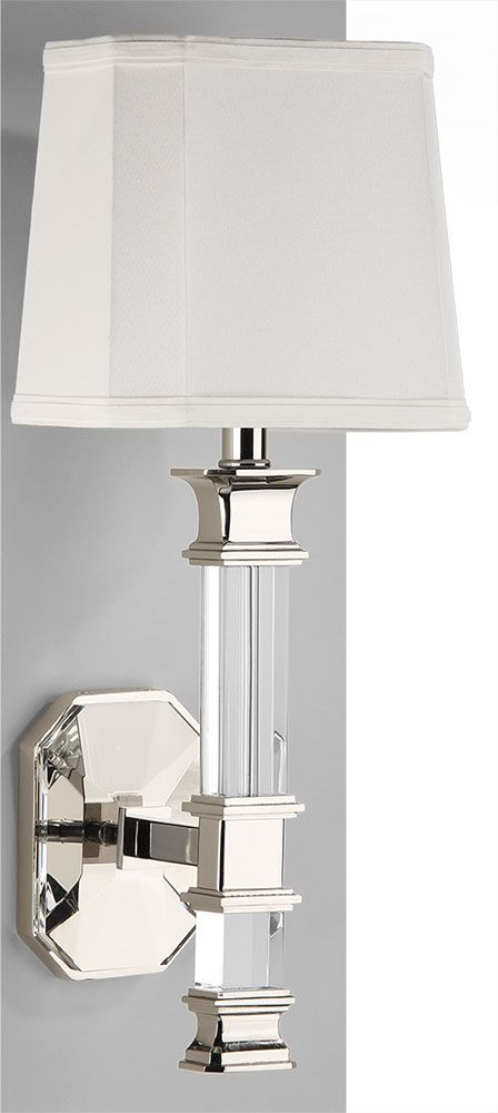 Crystal Sconce in 2020 | Sconce lighting, Crystal sconce ... on Crystal Bathroom Sconces id=91858