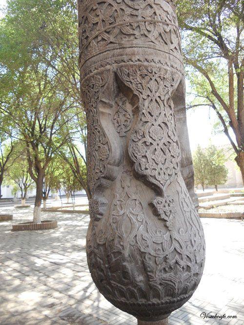 Фото Ремесло узбекских деревообделочников (дуродгорлик)