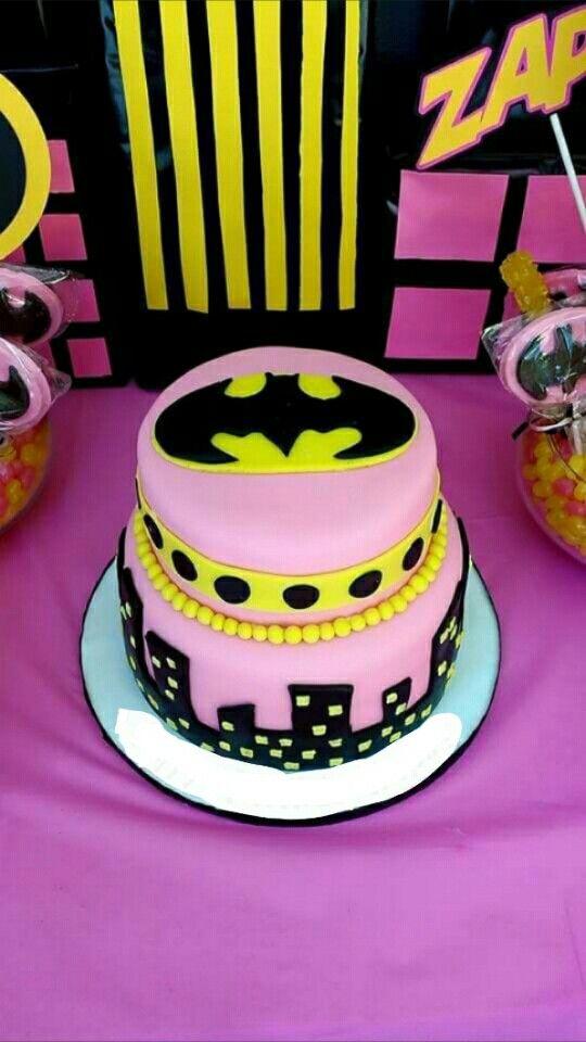 Batgirl Birthday Cake Pinteres