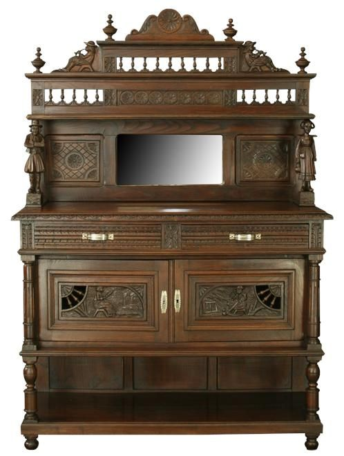 What is Brittany Style Antique Furniture? - Unique Traditional Hand-carved 19th-century Piece From Brittany