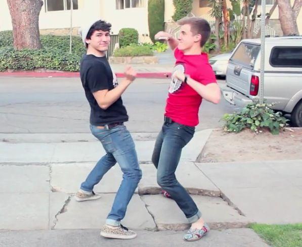 Jc Caylen and Connor Franta