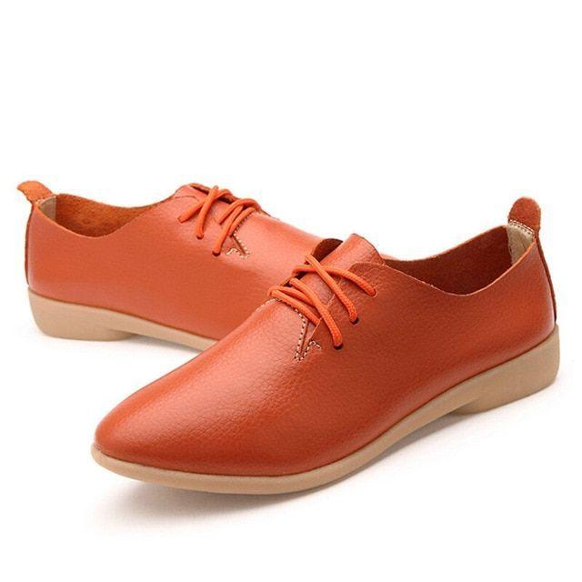 Chaussures oxford en cuir véritable de Mvvjke chaussures de sport à bout rond lacets print Chaussures oxford en cuir véritable de Mvvjke chaussures d...