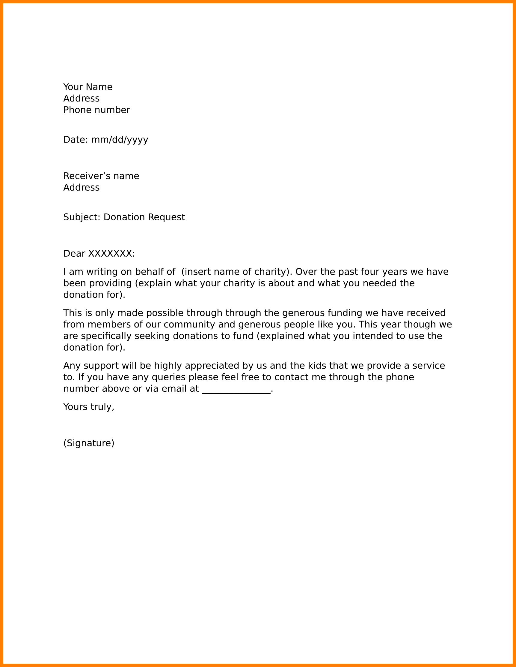 Solicit Business Letter Sample from i.pinimg.com