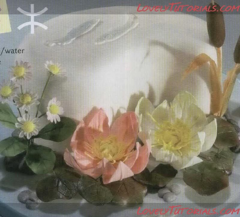 water lily gumpaste flower tutorial
