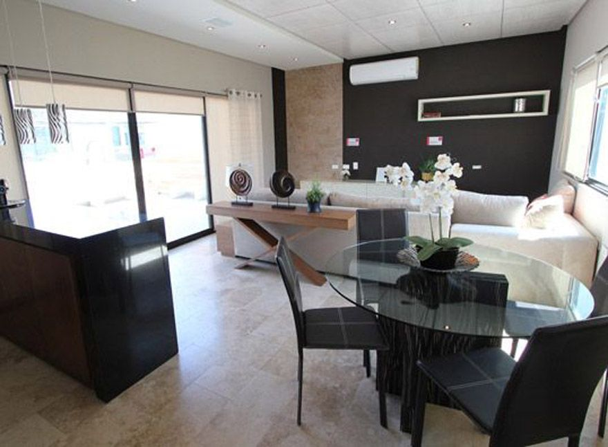 Decorar la sala comedor en espacios peque os para mi for Modelos de sala comedor para espacios pequenos