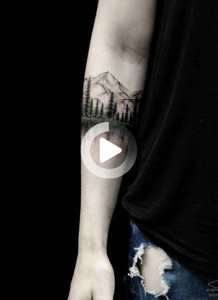 55 Best Ideas For Tattoo Mountain Arm Sleeve