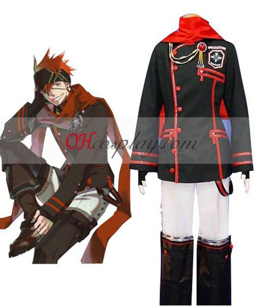 D.Gray-man Lavi 3rd Uniform Cosplay Costume