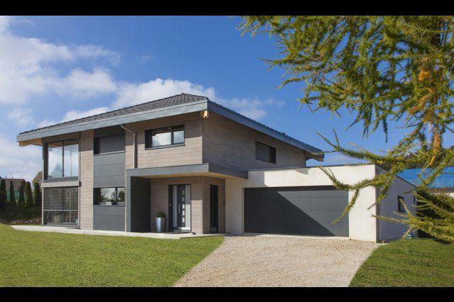 Myotte Duquet architecture bois, Maison 4 pans à Gilley | maison ...
