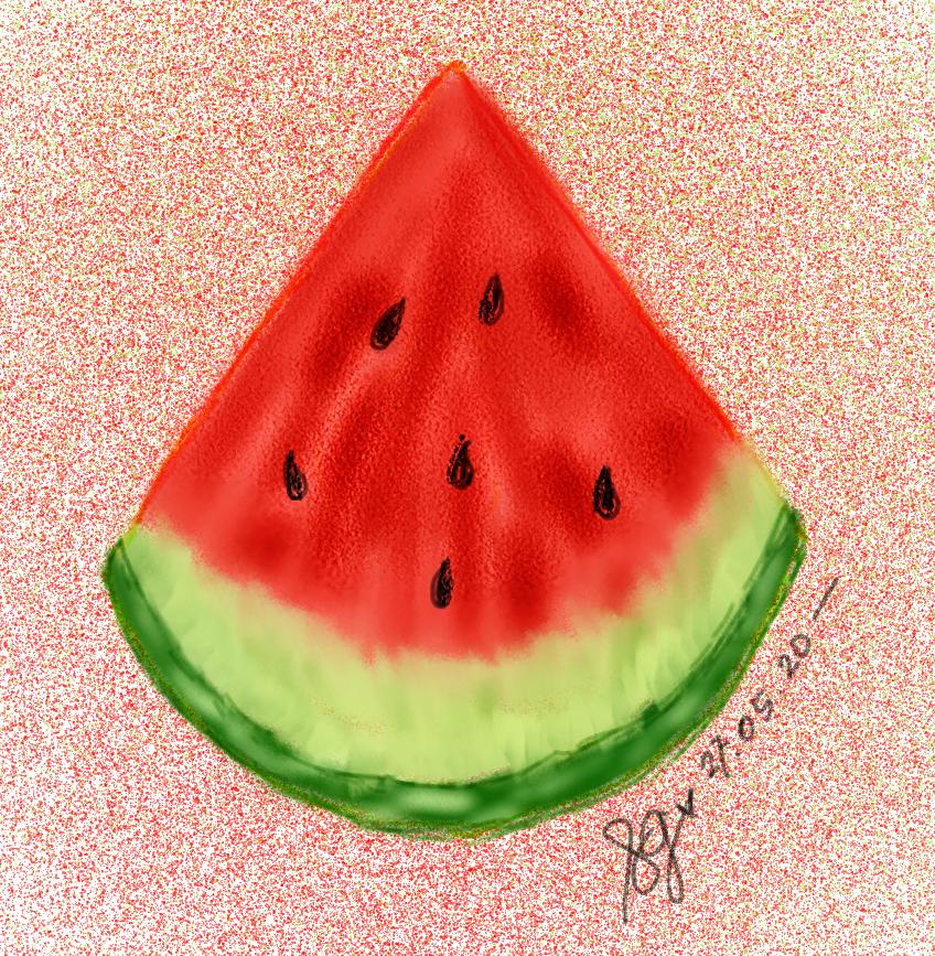Slice Of Watermelon Di 2020