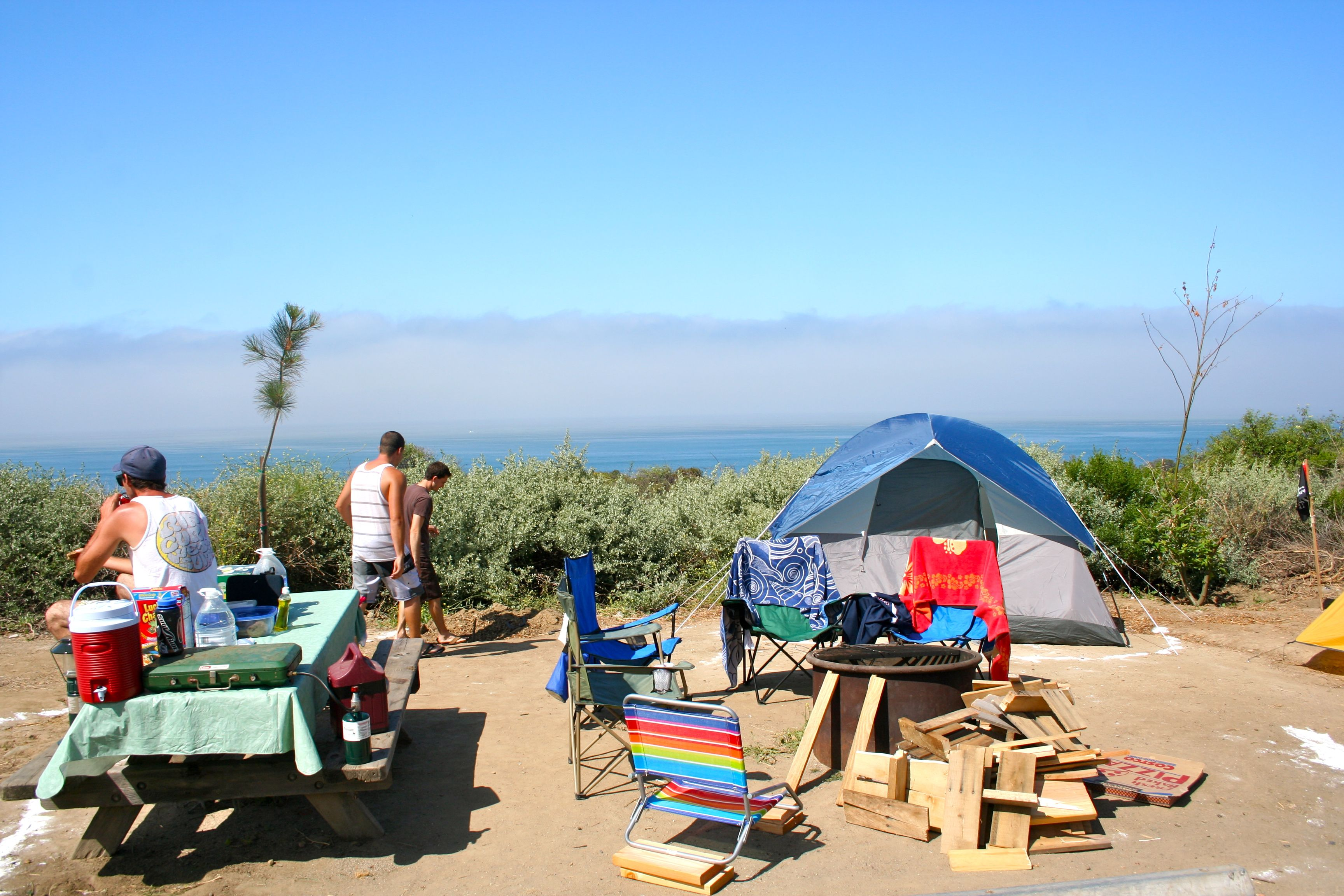 San Onofre State Beach Campground For