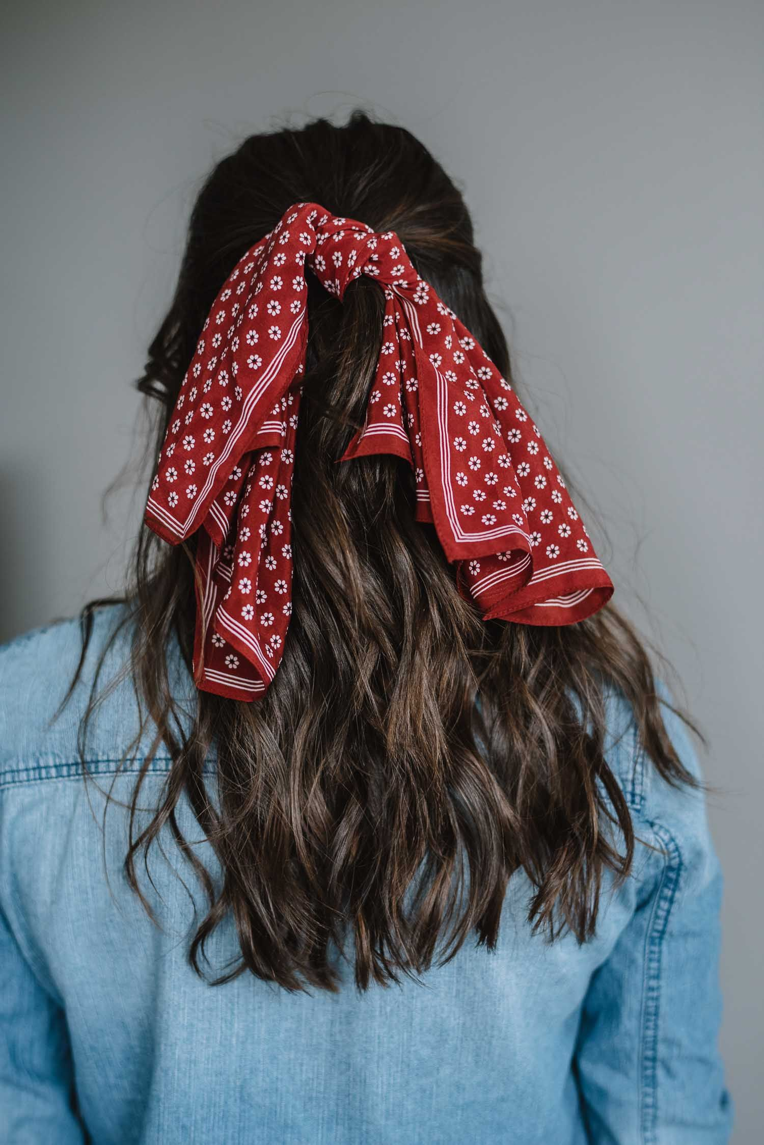 ways to wear a bandana in your hair this summer hair pinterest