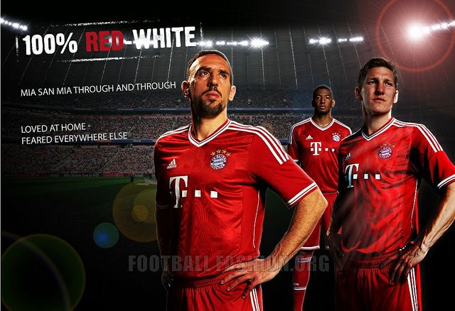 Adidas FC Bayern Champions League Trikot 20132014