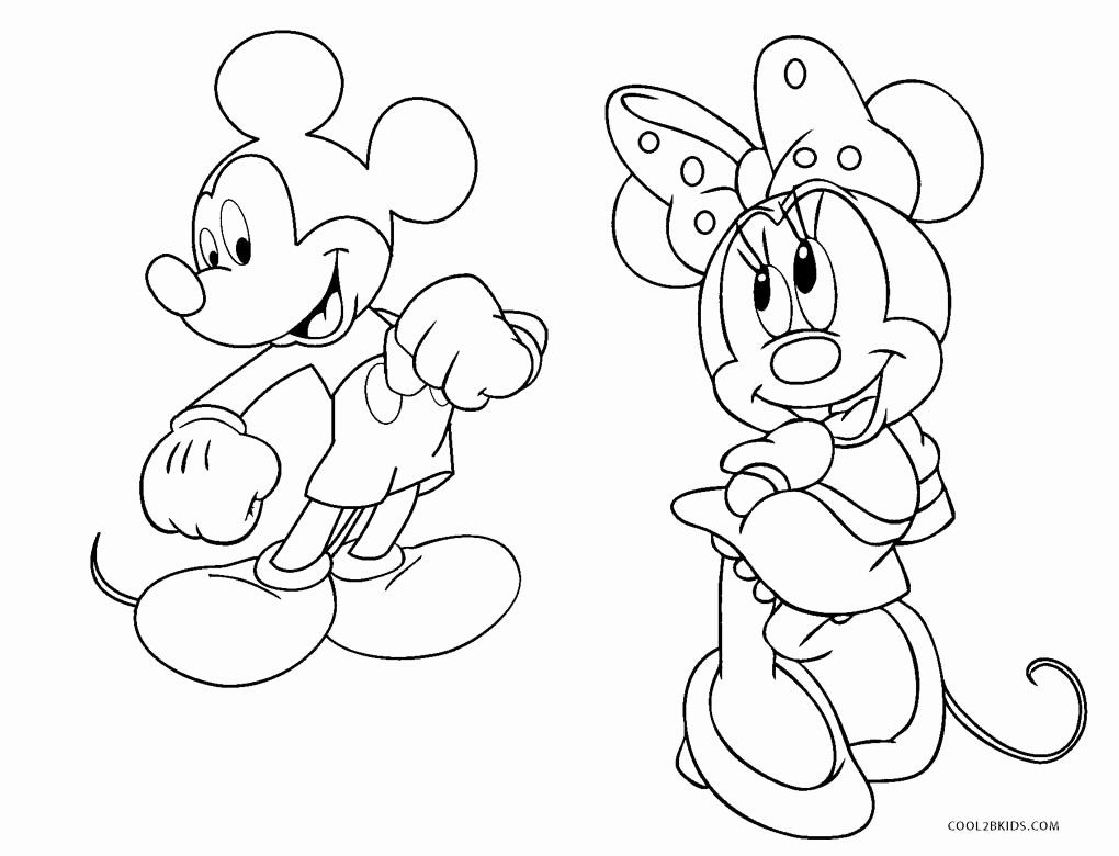24 Mickey Mouse Clubhouse Coloring Page
