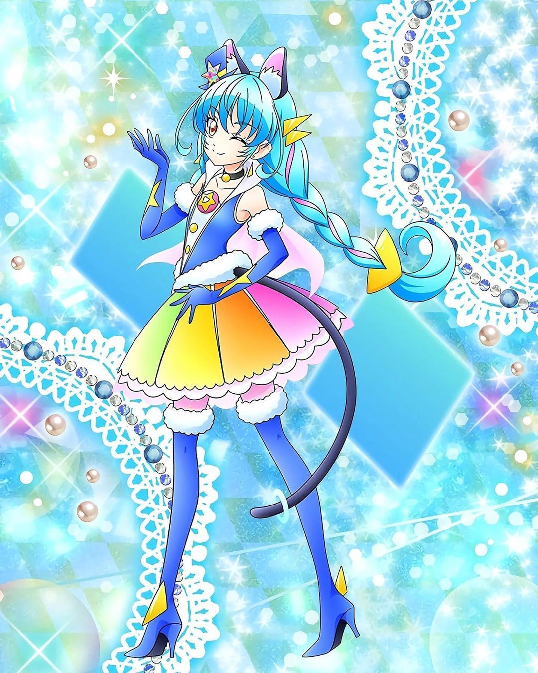 Star twinkle precure precure style cure cosmo