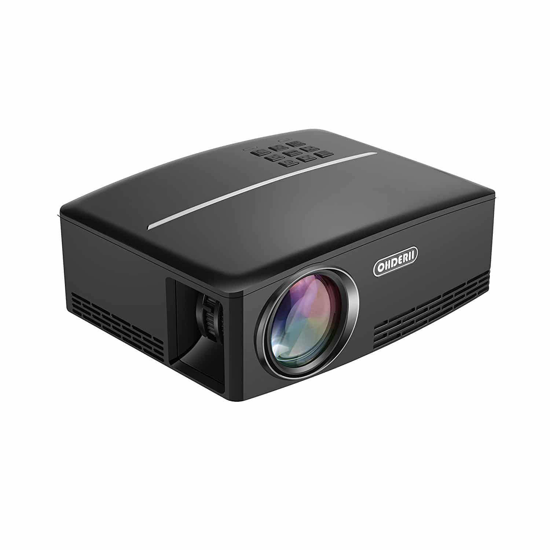 Top 10 Best Mini Projectors In 2020 Hqreview Mini Projectors Portable Projector Smartphone Projector