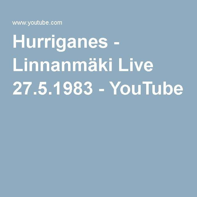 Hurriganes - Linnanmäki Live 27.5.1983 - YouTube