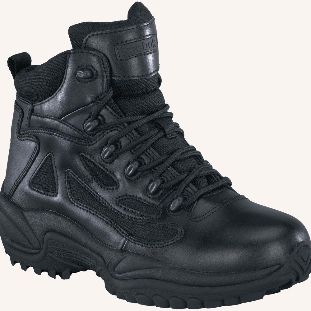0633e82e8b1 RB8688 Reebok Men's Stealth WP Uniform Boots - Black | Reebok ...
