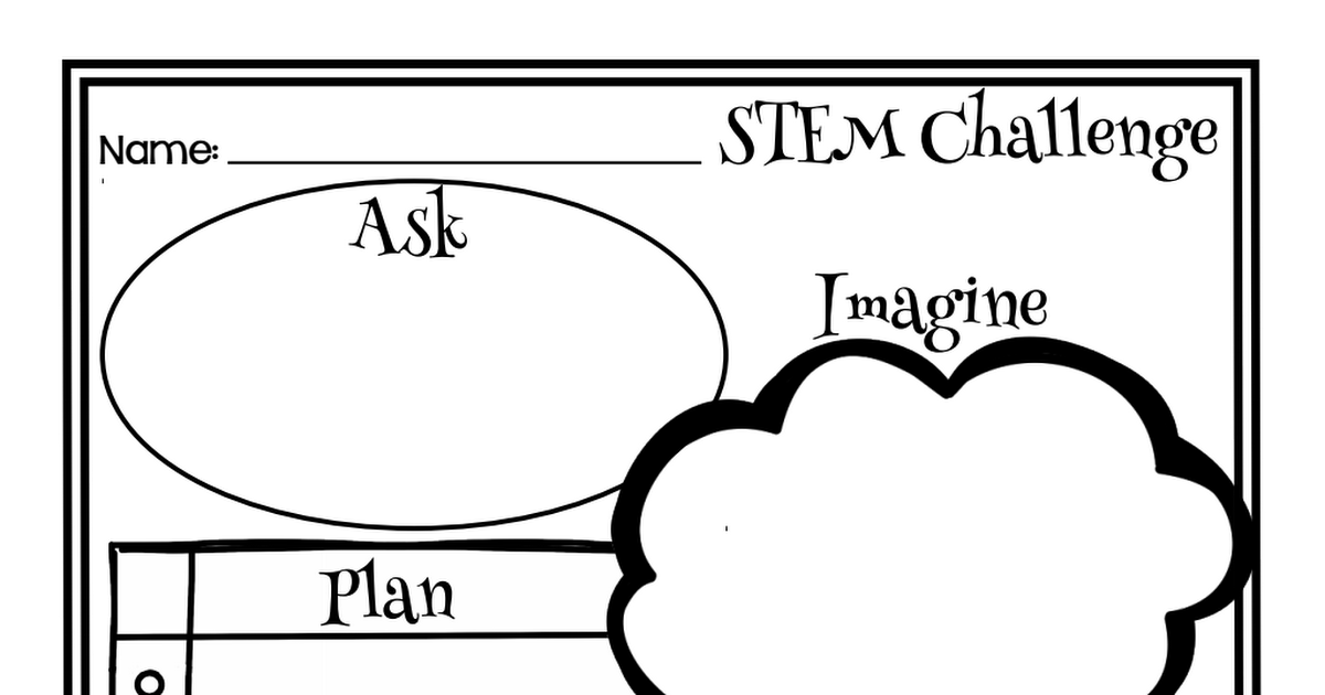 Engineering Design Process Graphic Organizer Pdf Engineering Design Challenge Engineering Design Process Engineering Design