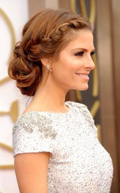 Red Carpet Hairstyles Prom Hairstyles Updos Medium Length