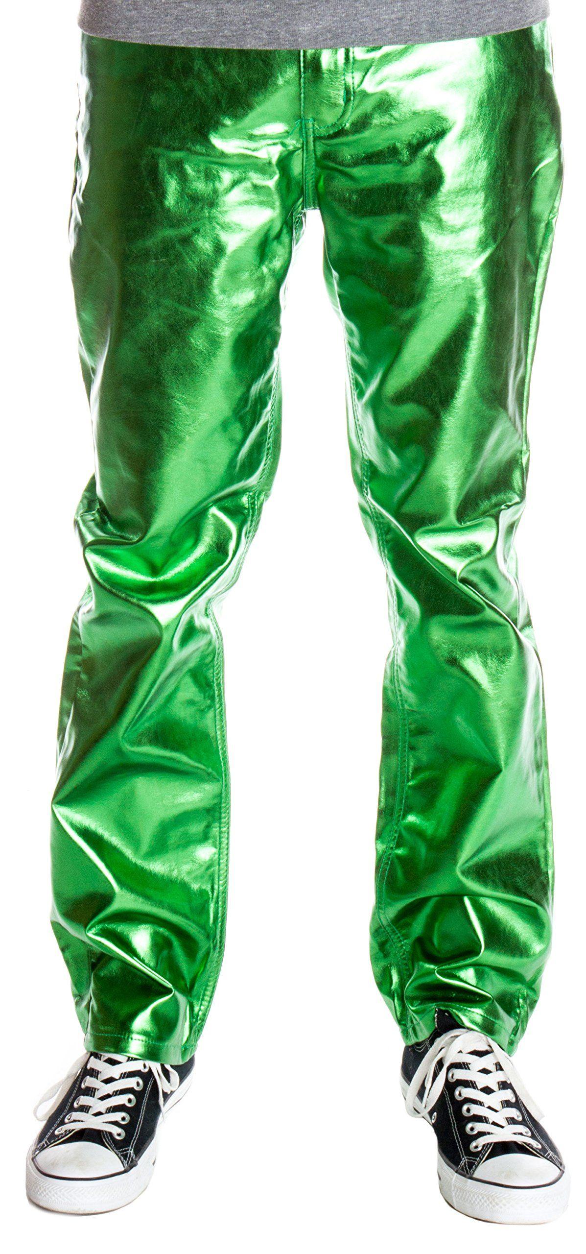 6bf284230e9 Ragstock Men s Metallic Shiny Jeans