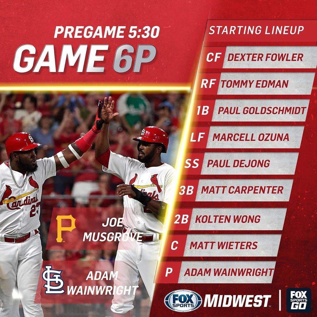 """FOX Sports Midwest on Instagram """"Waino's on the mound as"""