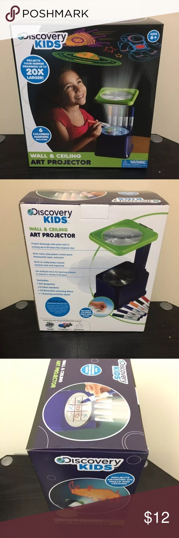 discovery kids wall art projector nwt in 2018 my posh picks