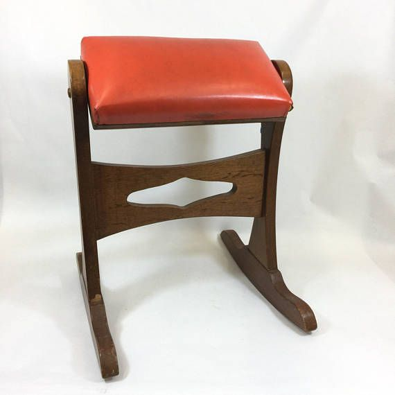 Bentwood Footstool Or Gout Stool. Antiques