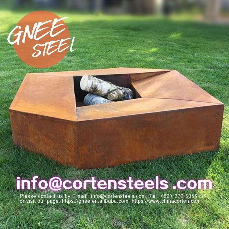 Corten Steel Outdoor Fireplace Australia View Corten Steel Gnee Gnee Product Details From Gnee Tianjin Multinational Trade Co Ltd On Alibaba Com In 2020 Corten Steel Corten Fire Bowls